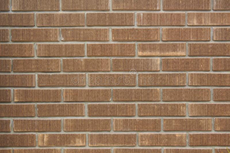 Красной, коричневой предпосылка текстурированная кирпичной стеной стоковые фотографии rf