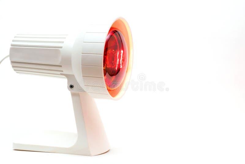 Красно-свет-лампа стоковые фото