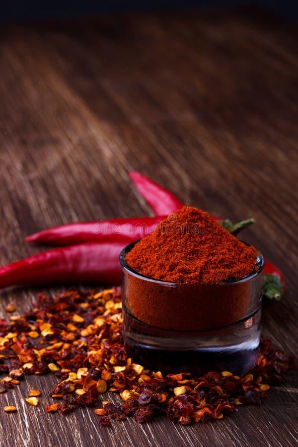 Красные бумаги chili стоковое фото