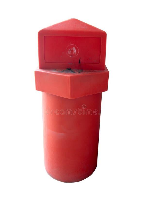 Download Красные мусорные ведра стоковое изображение. изображение насчитывающей аккуратно - 33736039