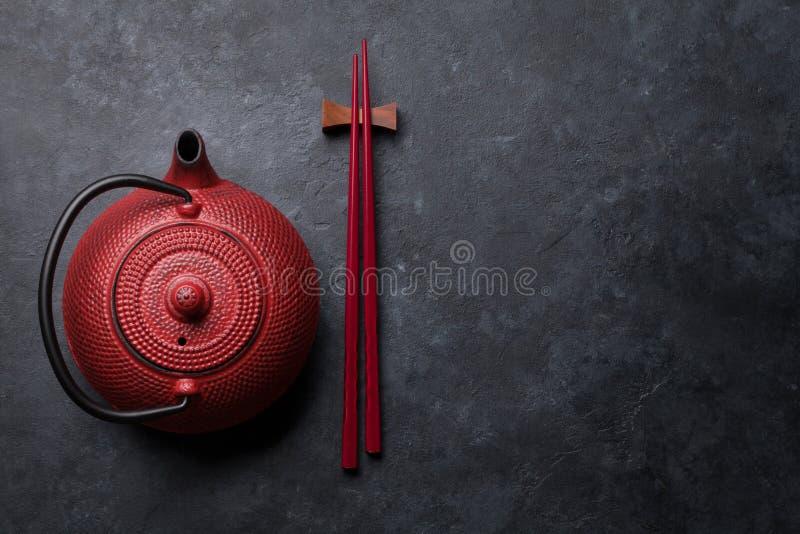 Красные палочки бака и суш чая стоковые фото