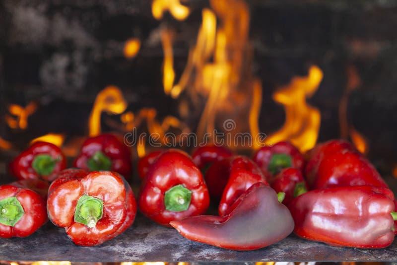 Красные перец стоковое фото rf