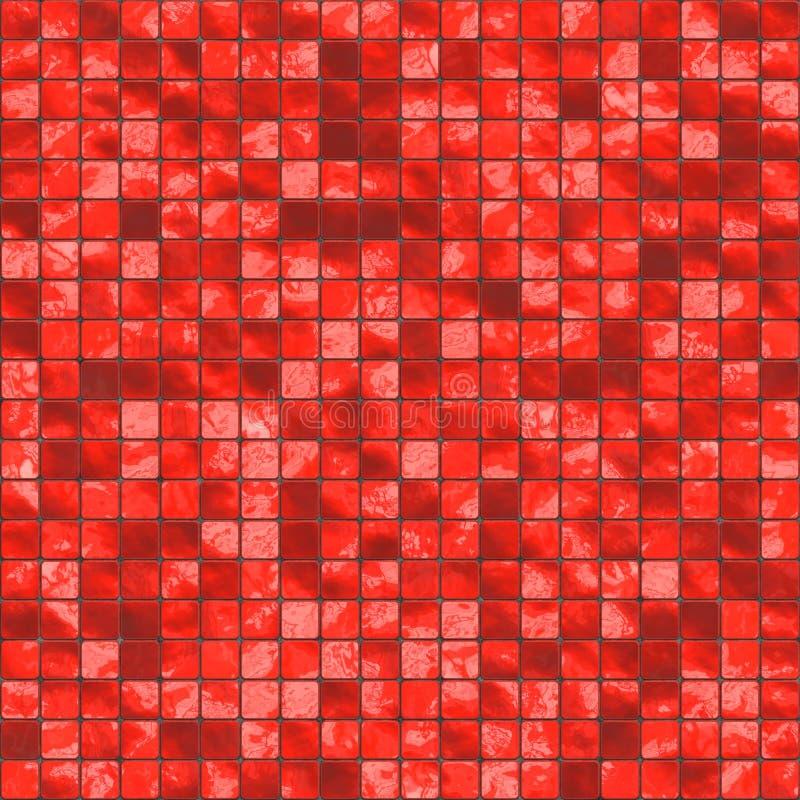 красные плитки бесплатная иллюстрация