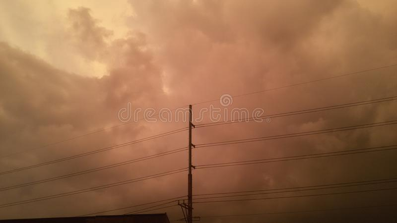 Красные skyes стоковые фото