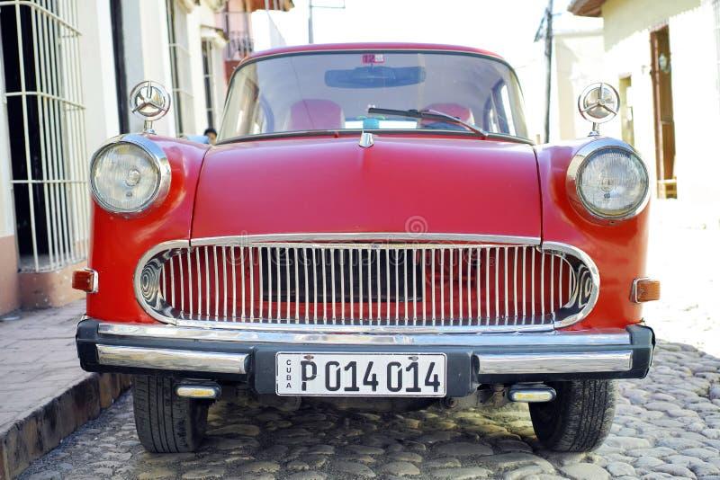 Красный ветеран - Тринидад, Куба стоковые изображения