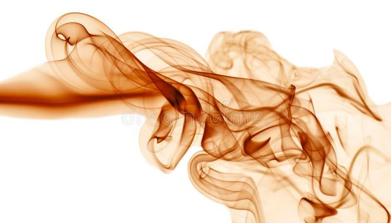 Красный дым на белой предпосылке стоковое изображение