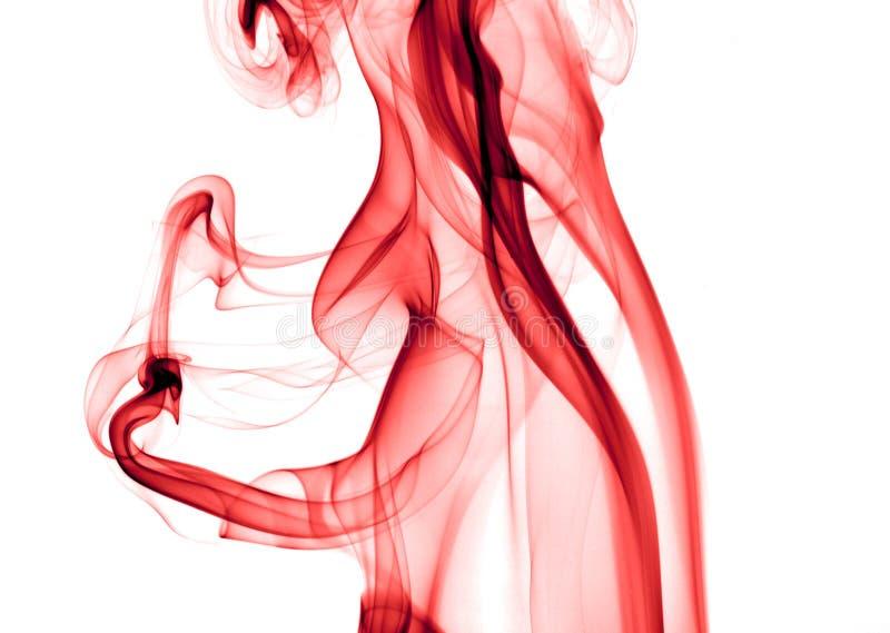 красный дым стоковые фото
