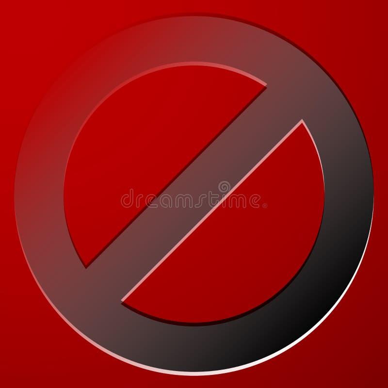 Download Красный запрет, знак ограничения - сброс, закрыл, никакое Entran Иллюстрация вектора - иллюстрации насчитывающей опасно, interdiction: 81810959
