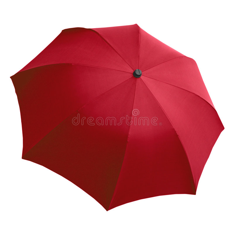 красный зонтик стоковое фото rf