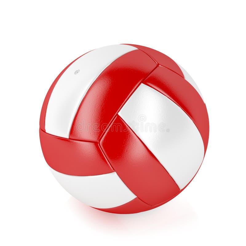 Красный и белый шарик бесплатная иллюстрация