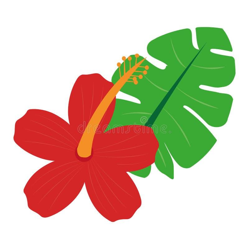 Красный и желтый цветок бесплатная иллюстрация