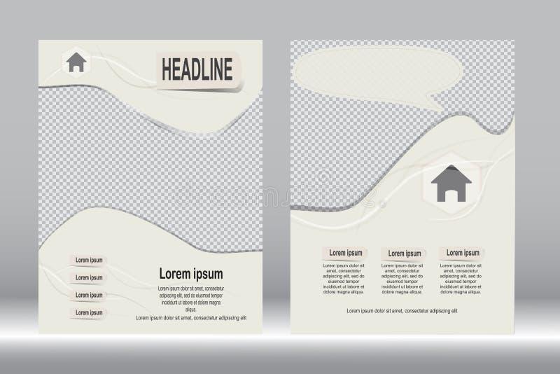Download Красный и черный дизайн рогульки шаблона брошюры Иллюстрация вектора - иллюстрации насчитывающей дело, backhoe: 81809814