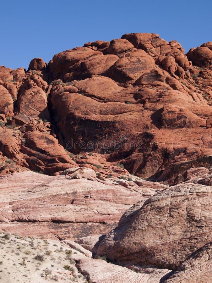 Красный каньон утеса около Лас-Вегас Невады стоковые фотографии rf