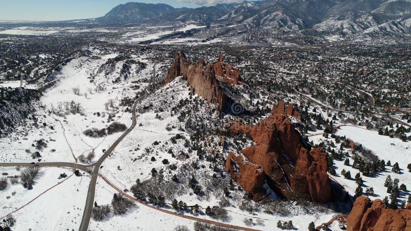 Красный каньон утеса стоковые изображения rf