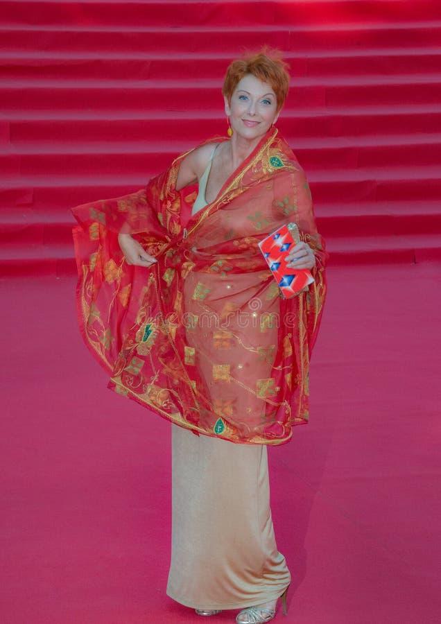 Красный ковер РАССТРАИВАТЬ 38 - отверстие фестиваля стоковая фотография