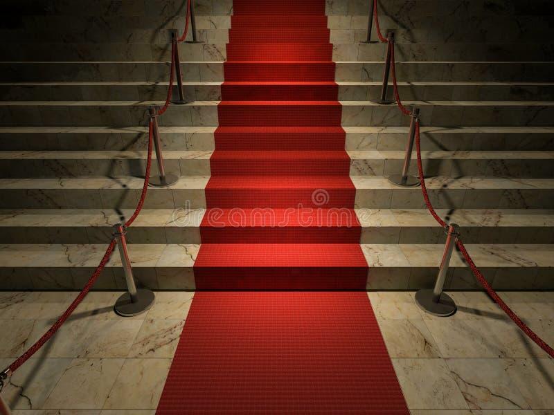 красный ковер 3ds бесплатная иллюстрация
