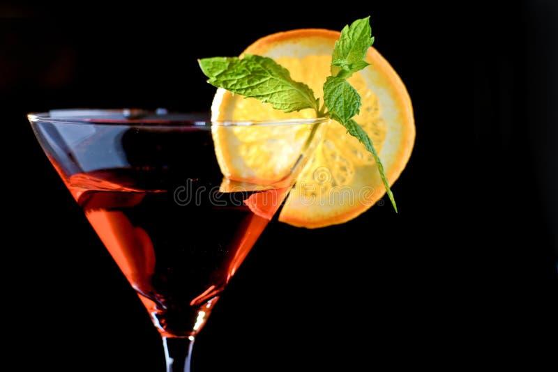 Красный коктеил стоковые изображения rf