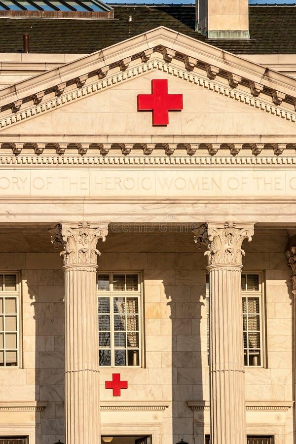 Штабы Красного Креста в DC стоковые фото