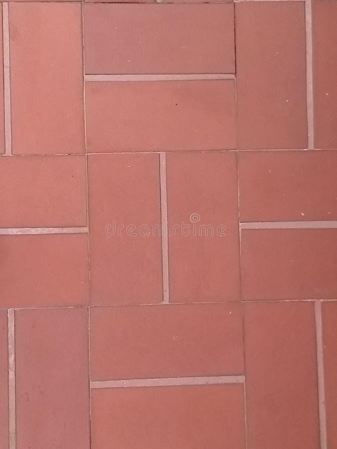 Красный материал плитки стоковая фотография rf