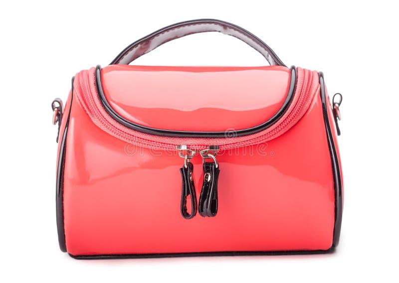 Красный мешок женщин стоковое изображение