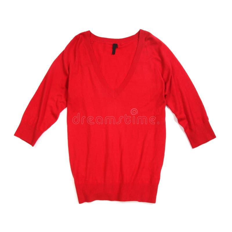 красный свитер стоковые изображения rf