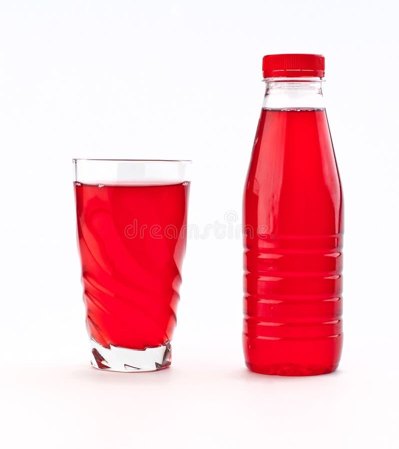 Красный сок стоковая фотография rf