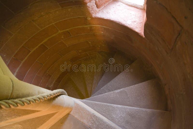 красный спиральн камень стоковые фотографии rf