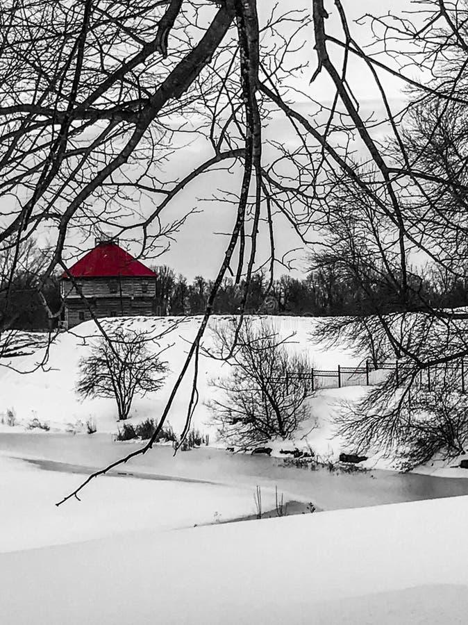 Красный форт стоковые фото