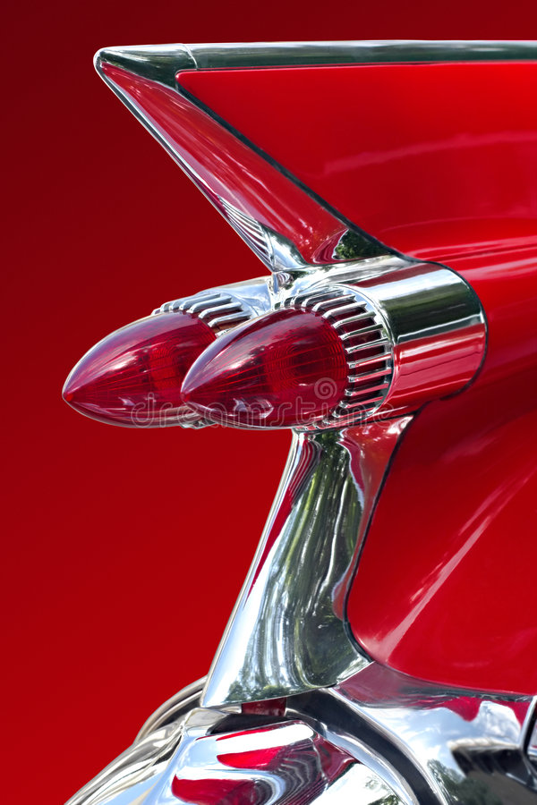 красный цвет автомобиля мечт стоковая фотография