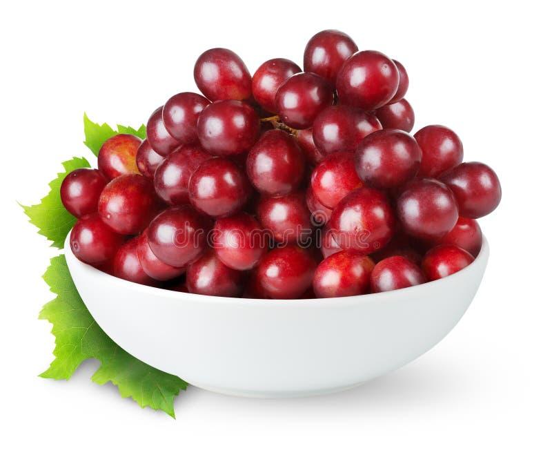 красный цвет виноградины стоковая фотография