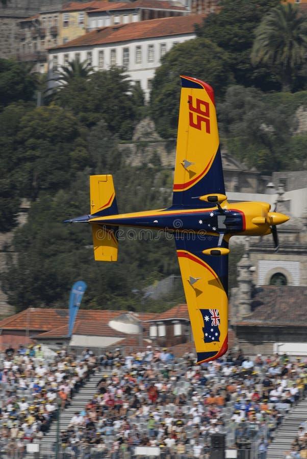 красный цвет гонки Португалии быка воздуха 2009 стоковое изображение rf