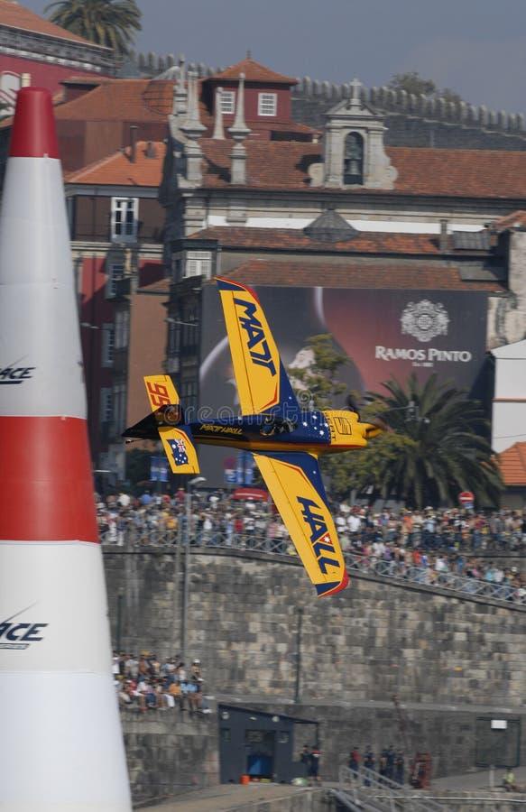 красный цвет гонки Португалии быка воздуха 2009 стоковые изображения rf