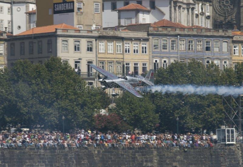 красный цвет гонки Португалии быка воздуха 2009 стоковая фотография