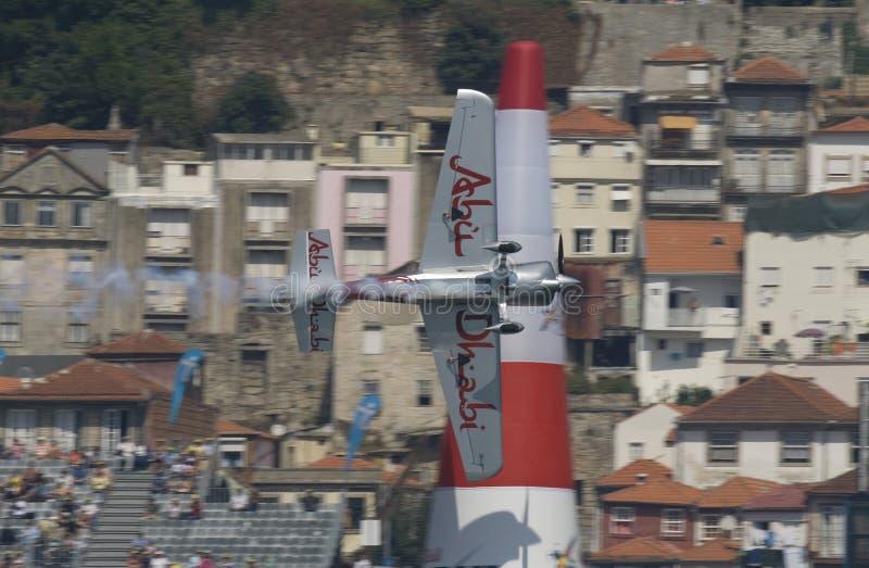 красный цвет гонки Португалии быка воздуха 2009 стоковые изображения