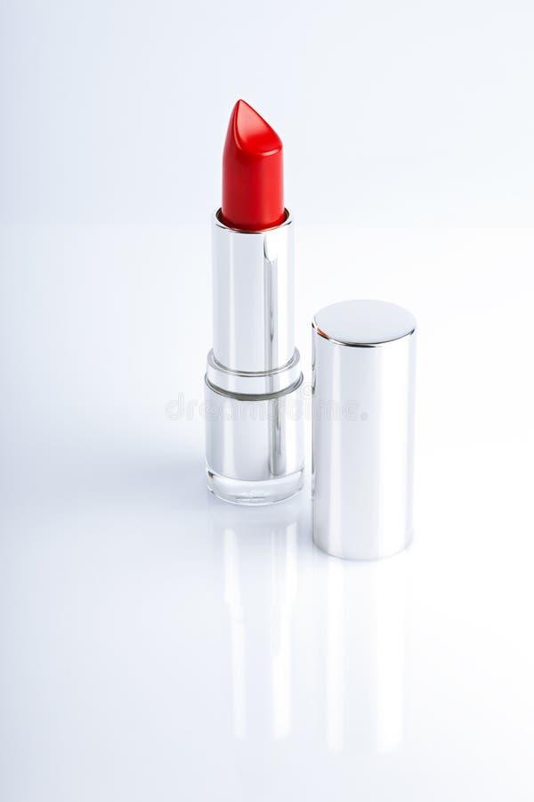 красный цвет губной помады стоковые изображения