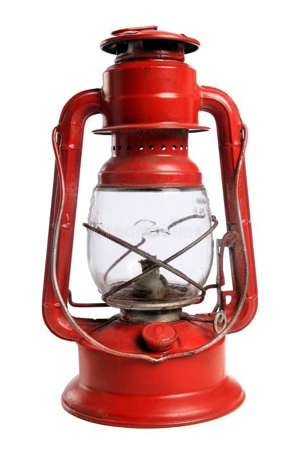 красный цвет железной дороги фонарика стоковое изображение