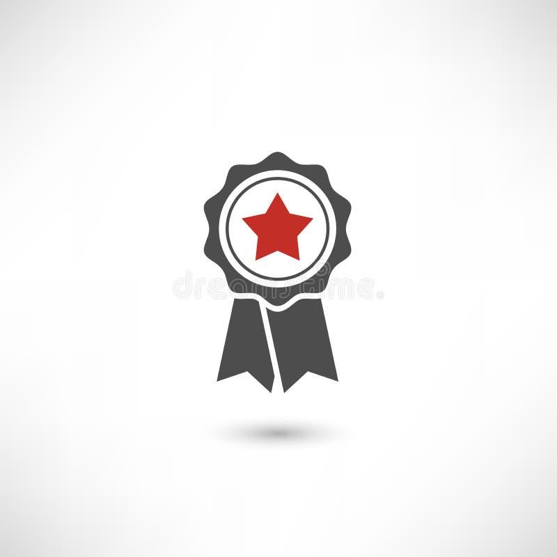 Красный цвет звезды значка бесплатная иллюстрация
