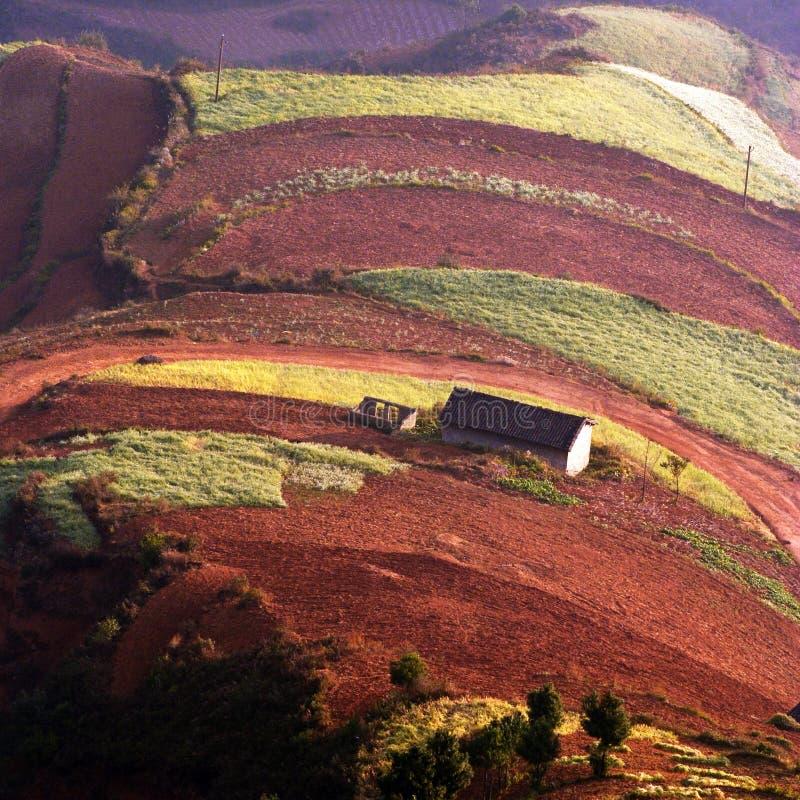 красный цвет земли стоковое изображение
