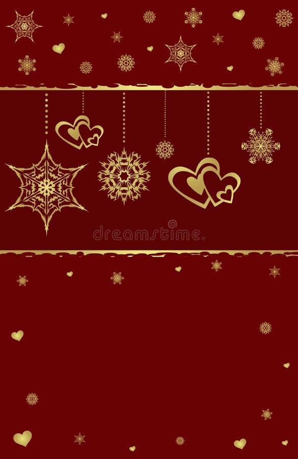 красный цвет золота цвета рождества предпосылки симпатичный бесплатная иллюстрация