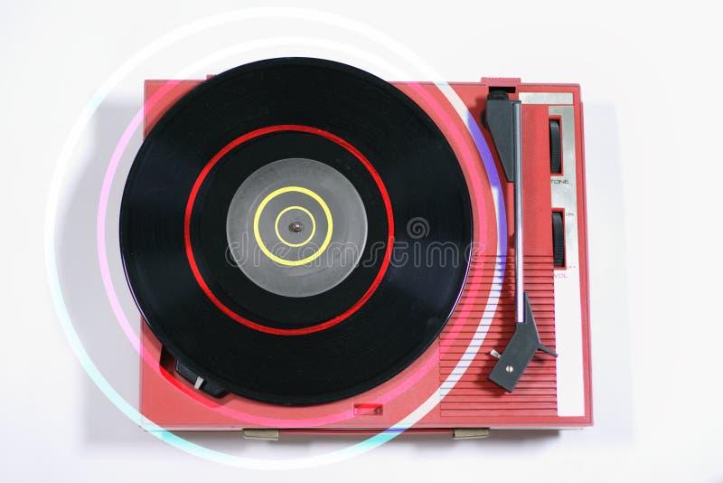 Download красный цвет игрока рекордный Стоковое Изображение - изображение насчитывающей палуба, закрутка: 1175971