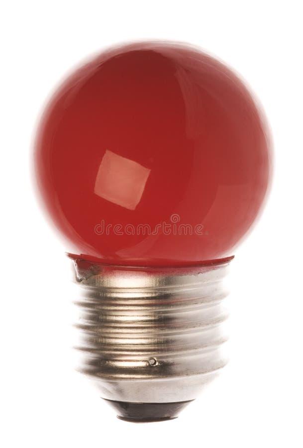 красный цвет изолированный шариком светлый стоковые изображения rf