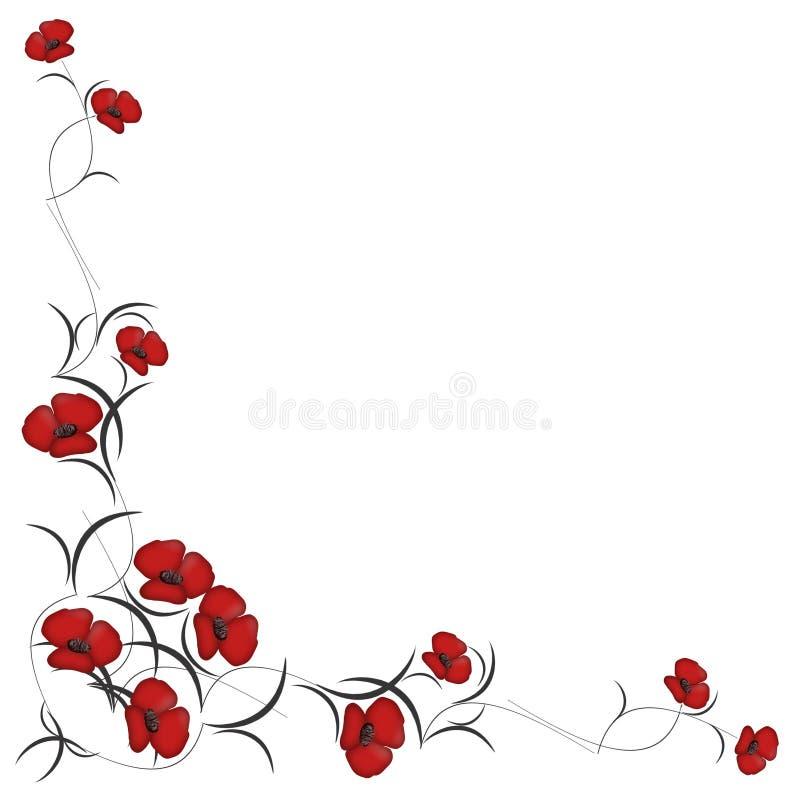 красный цвет картины цветков предпосылки бесплатная иллюстрация