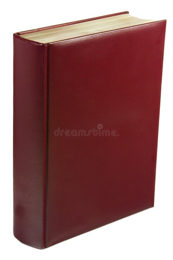 красный цвет книги кожаный стоковое изображение rf