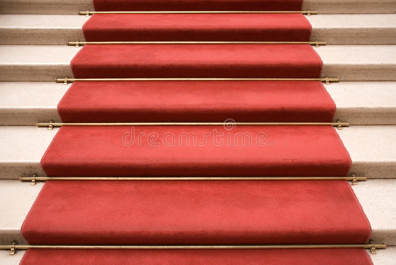 красный цвет ковра стоковое изображение rf