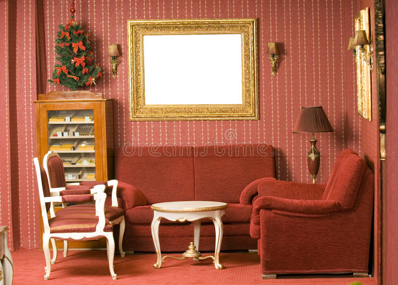 красный цвет конструкции нутряной стоковая фотография