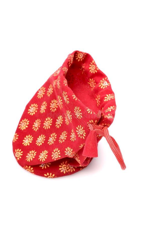красный цвет мешка стоковое изображение rf