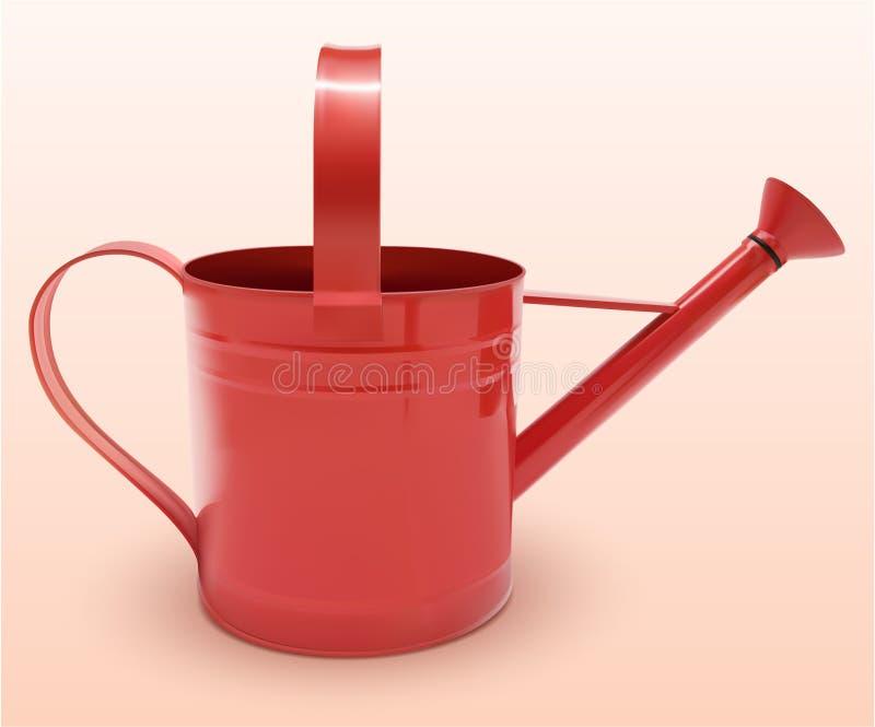 Красный цвет моча чонсервной банкы стоковые изображения
