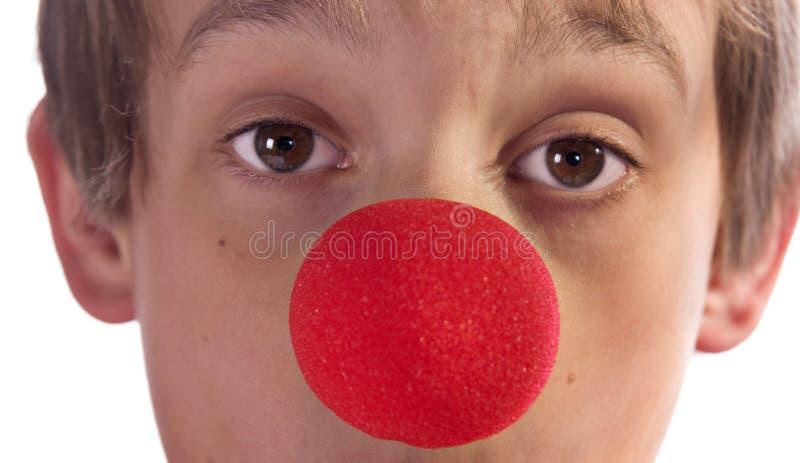 красный цвет носа стоковые изображения rf