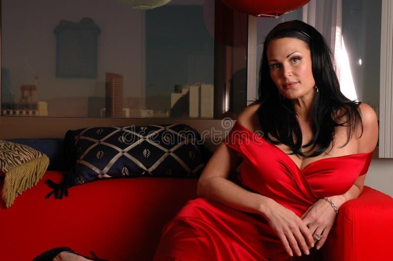 красный цвет повелительницы стоковое изображение