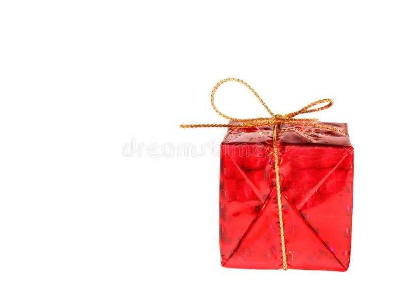 красный цвет подарка стоковые фотографии rf